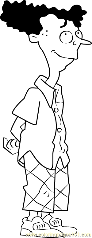 Howard DeVille Coloring Page