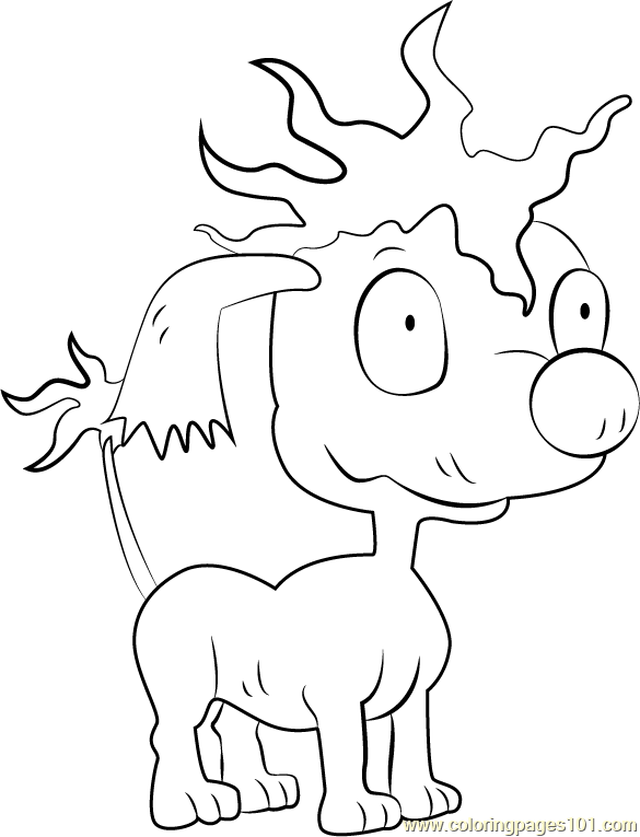 Pepper Coloring Page Free Rugrats Coloring Pages