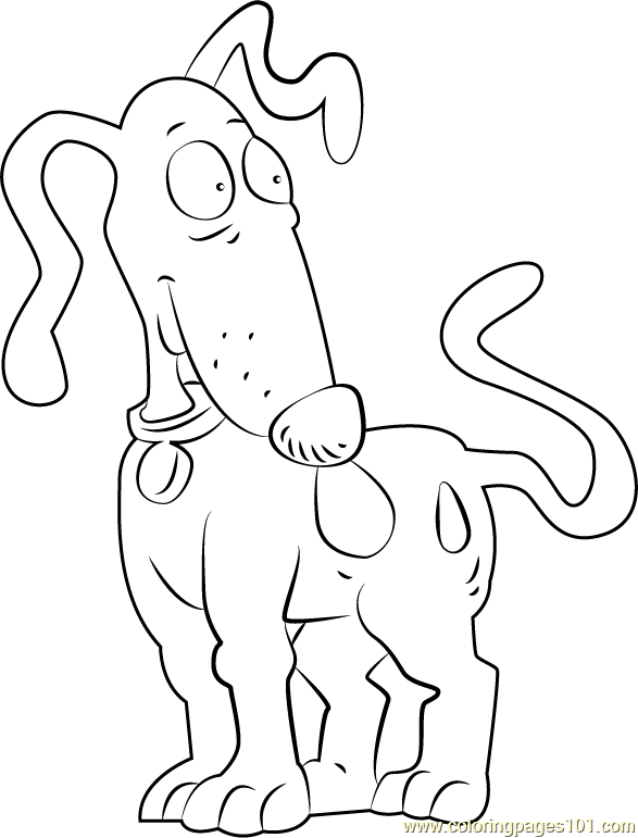 Spike Coloring Page Free Rugrats Coloring Pages