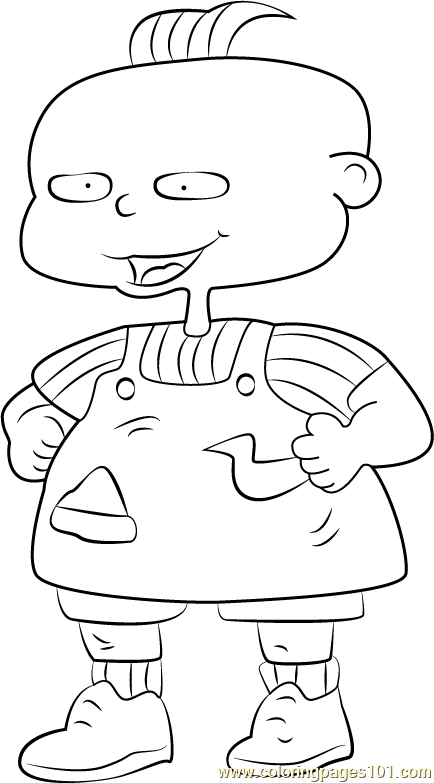 phil Coloring Page - Free Rugrats Coloring Pages : ColoringPages101.com