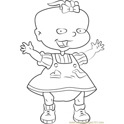 Lil DeVille Free Coloring Page for Kids