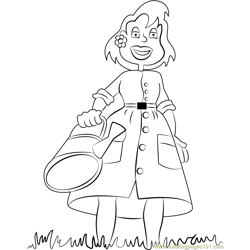 Melinda Free Coloring Page for Kids