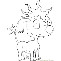 Pepper Free Coloring Page for Kids