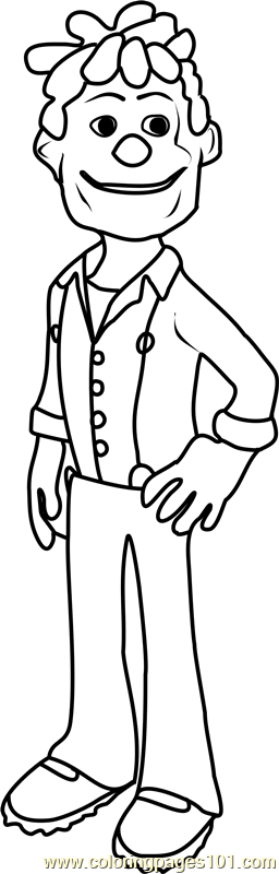 Mort Coloring Page