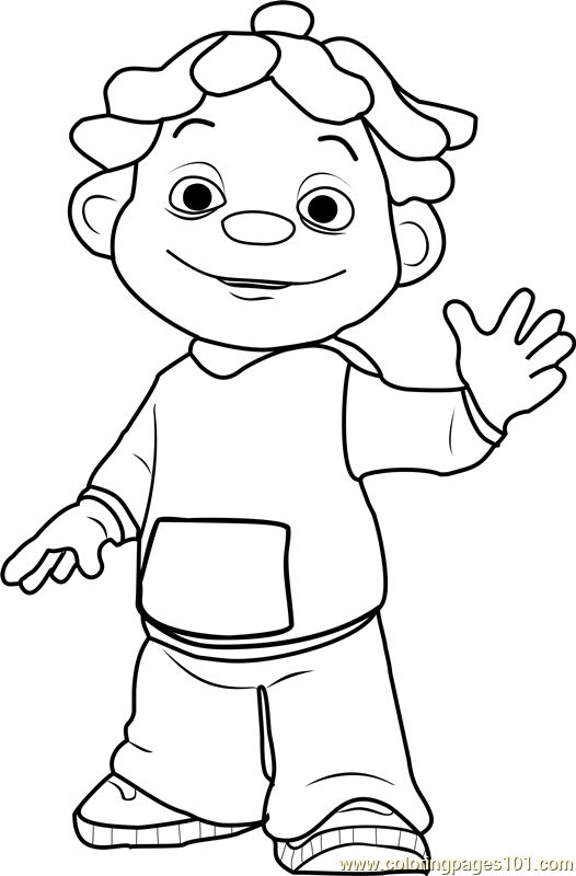 sid coloring page - Kid Pictures To Color