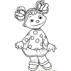 Gabriela coloring page