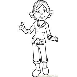 Susie coloring page