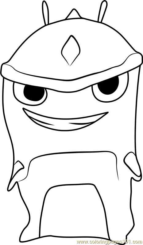 Armashelt Coloring Page Free Slugterra Coloring Pages