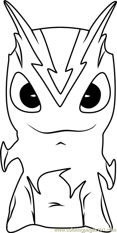 Slugs from slugterra coloring pages xmitter slugterra coloring page by - Burpy Coloring Page Free Slugterra Coloring Pages