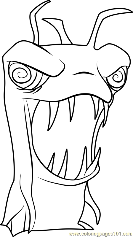 Burpy from slugterra coloring page coloring pages for Slugterra coloring pages burpy