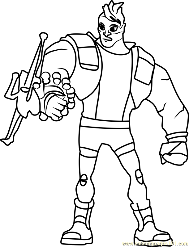 Gerhard Stocker Coloring Page