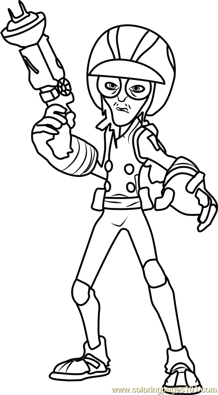 Glasses Coloring Page