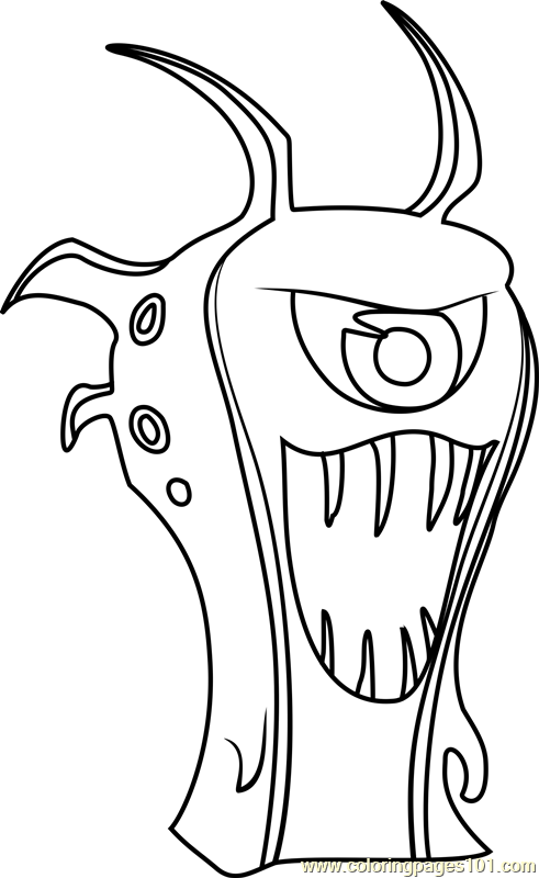 Goon Doc Coloring Page