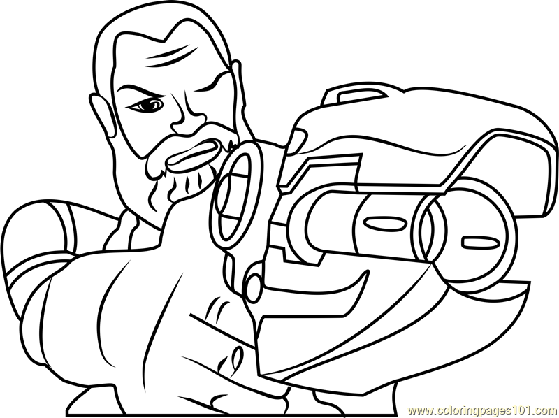 Jimmo Shane Coloring Page