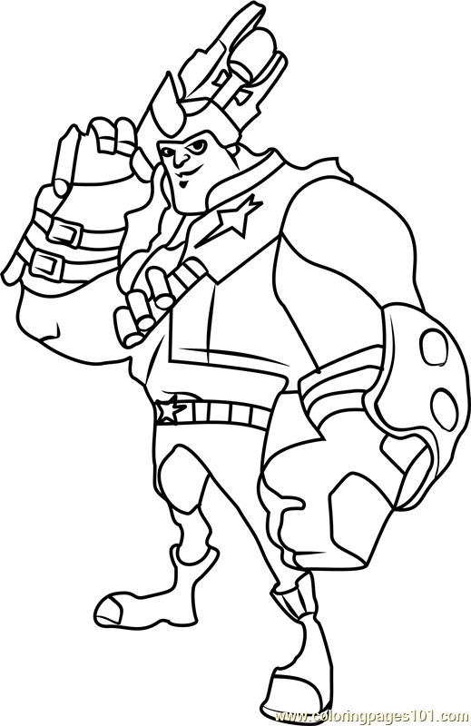 Kord Zane Coloring Page Free Slugterra Coloring Pages
