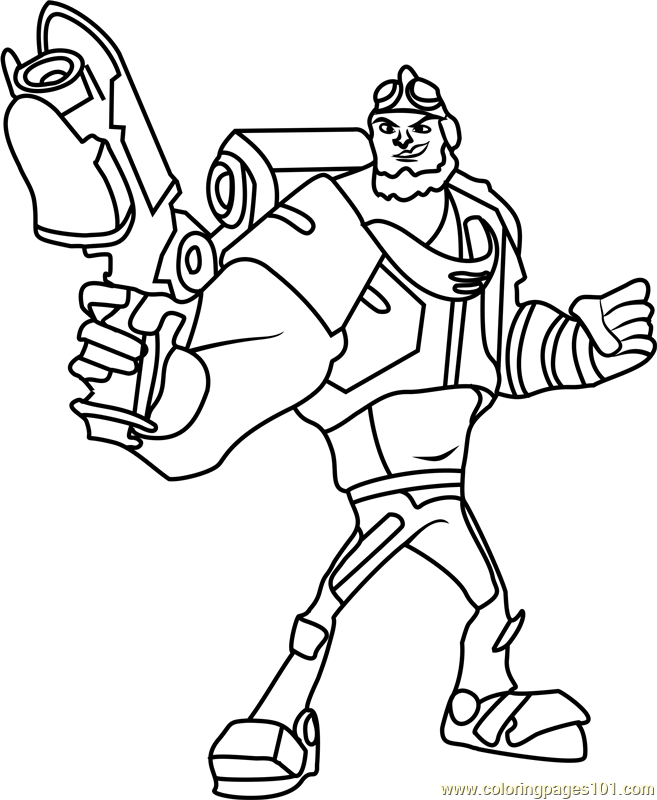 Locke Coloring Page