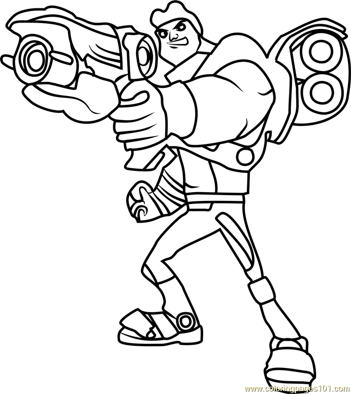 Lode Coloring Page
