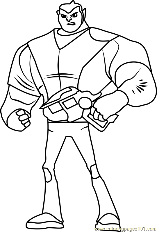 Maurice Coloring Page