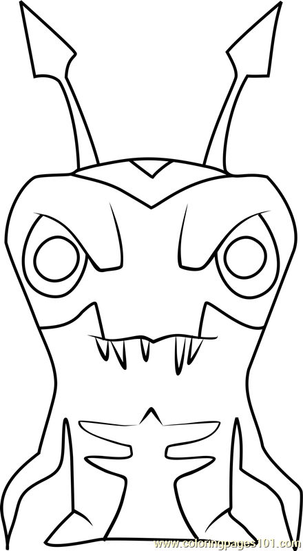 Nightgeist Coloring Page