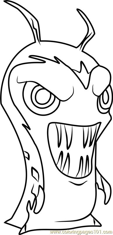 Photomo coloring page free slugterra coloring pages for Slugterra coloring pages burpy
