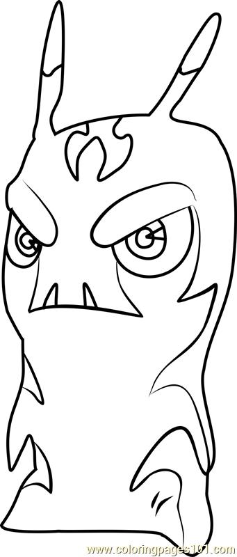 slugterra coloring pages burpy - pyringo coloring page free slugterra coloring pages
