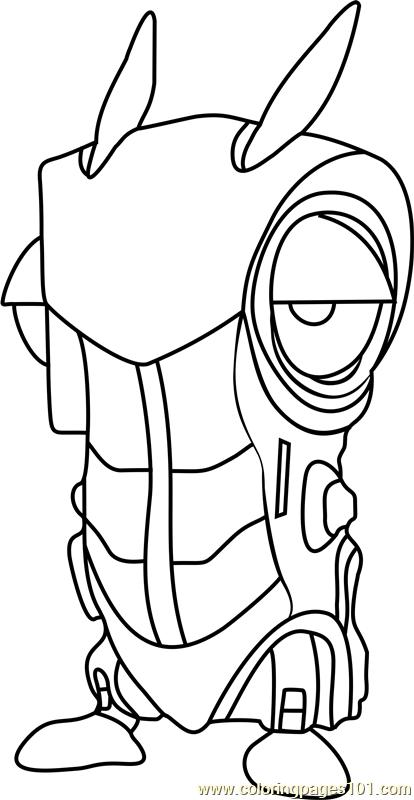 Roboslug Coloring Page Free Slugterra Coloring Pages