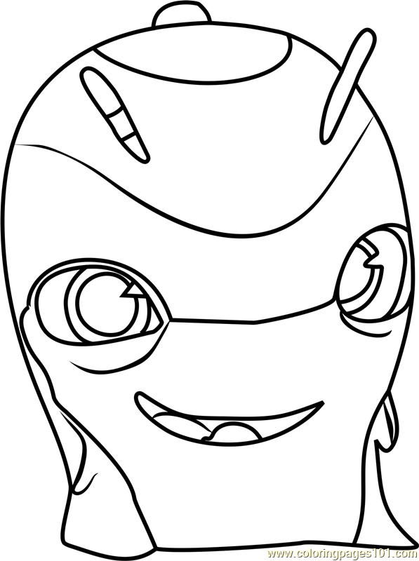 Slicksilver Coloring Page