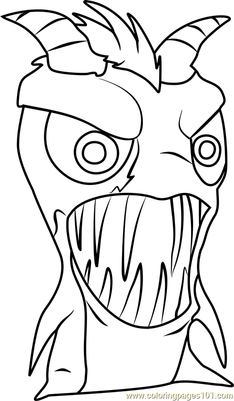 slugterra coloring pages tazerling ghoul - photo#8