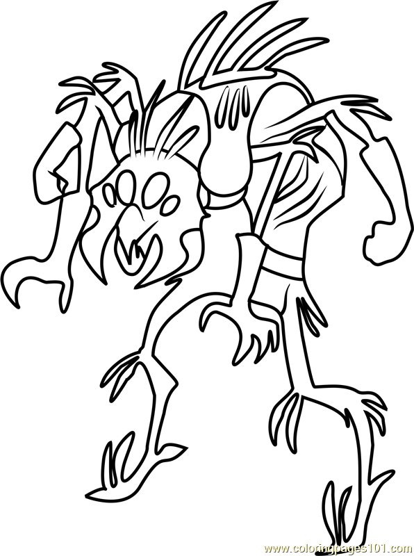 Spirex Coloring Page