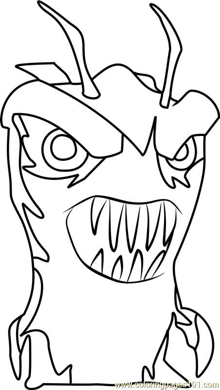 slugterra printable coloring pages creeper - photo#19