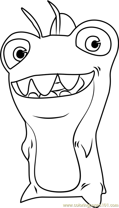 Thresher Coloring Page for Kids - Free Slugterra Printable ...