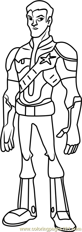 Will Shane Coloring Page Free