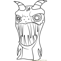 Sand Mangler coloring page