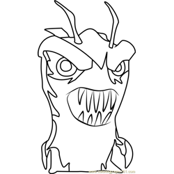Terrarix coloring page