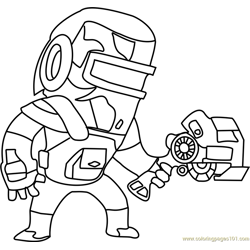 Welder Walter coloring page