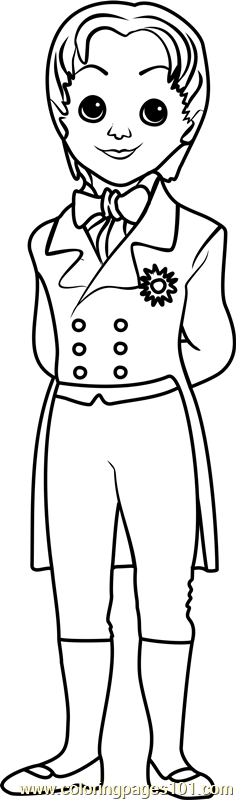 Prince James Coloring Page