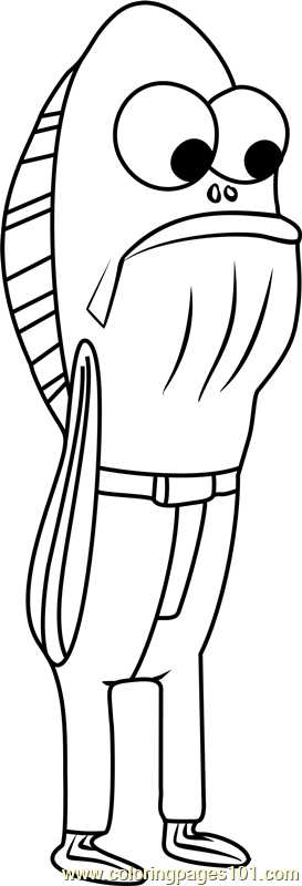 Fred Rechid Coloring Page Free