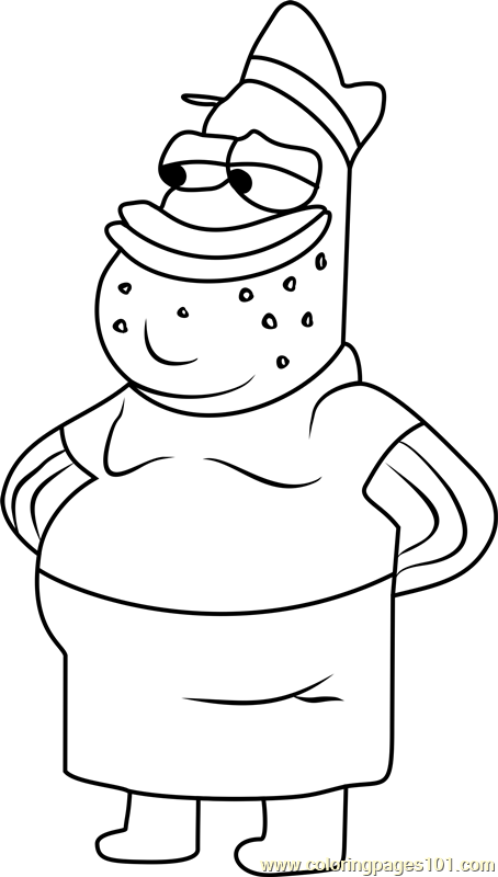 Jim Coloring Page
