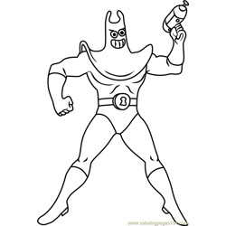Man Ray coloring page