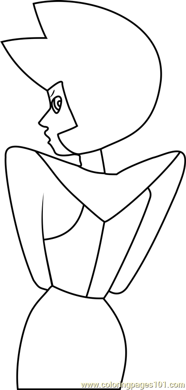 Yellow Diamond Steven Universe Coloring Page