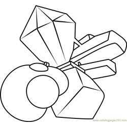 Cluster Gems Steven Universe coloring page