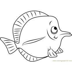 Sonny Stoked Free Coloring Page for Kids