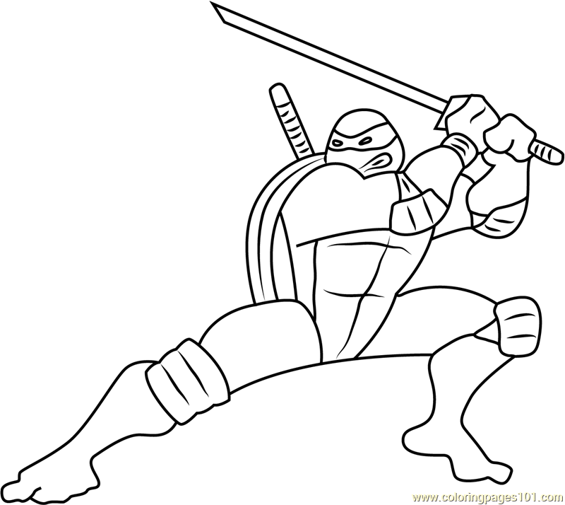 Leo Courageous Leader Coloring Page