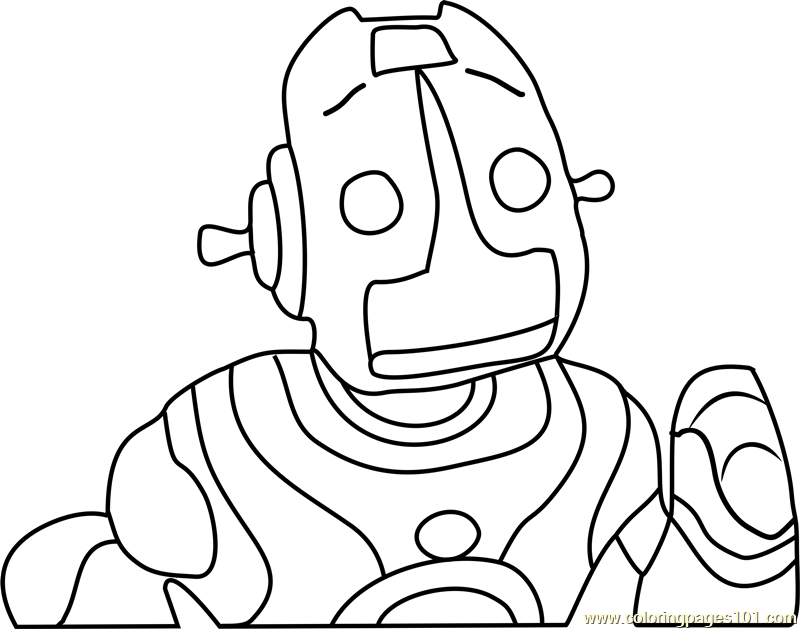 Robot roscoe head coloring page free the backyardigans for Free backyardigans coloring pages