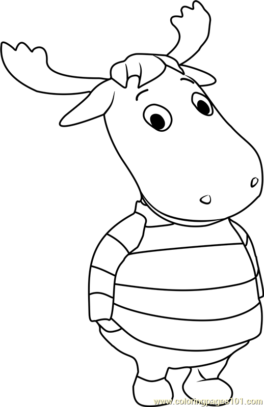 Tyrone Coloring Page Free The