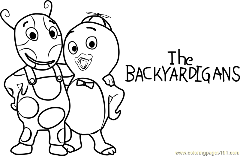 The Backyardigans Coloring Page - Free The Backyardigans Coloring ... | 522x800