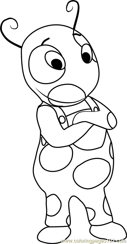 Uniqua Coloring Page