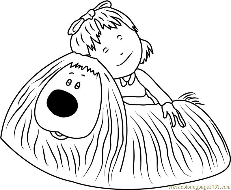 Dylan And Dougal Coloring Page