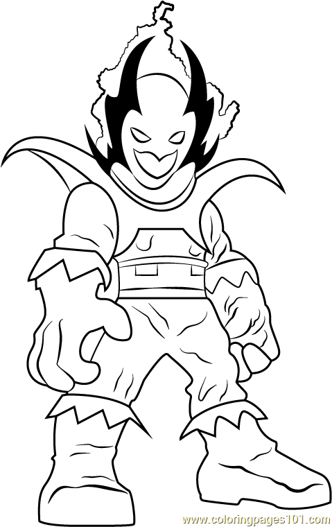 Dormammu Coloring Page