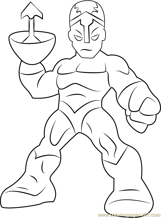 Klaw Coloring Page - Free The Super Hero Squad Show ...